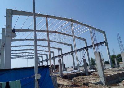 pre engineered steel building construction 41